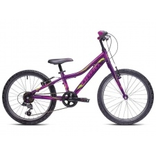 "Detský bicykel 20"" DRAG Little Grace (Purple/Green)"